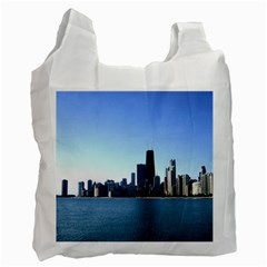 Chicago Skyline Recycle Bag (One Side)