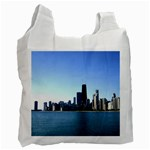 Chicago Skyline Recycle Bag (One Side) Front