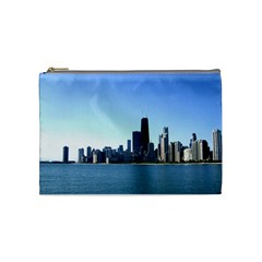 Chicago Skyline Cosmetic Bag (Medium)