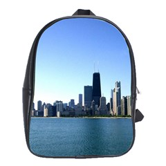 Chicago Skyline School Bag (Large)