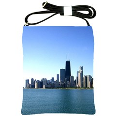 Chicago Skyline Shoulder Sling Bag