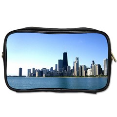 Chicago Skyline Travel Toiletry Bag (One Side)