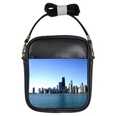 Chicago Skyline Girl s Sling Bag