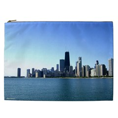 Chicago Skyline Cosmetic Bag (XXL)