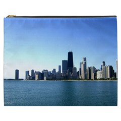 Chicago Skyline Cosmetic Bag (XXXL)