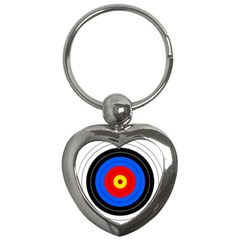 Target Key Chain (heart) by hlehnerer