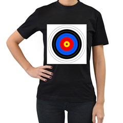 Target Womens' T-shirt (black) by hlehnerer