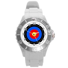 Target Plastic Sport Watch (large) by hlehnerer