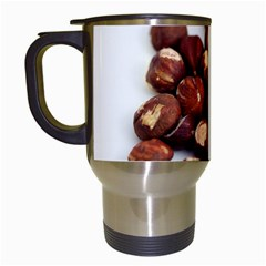 Hazelnuts Travel Mug (white) by hlehnerer