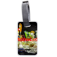 Dabdabcity710 Luggage Tag (one Side) by dabdabcity710