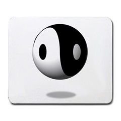 Yin Yang Large Mouse Pad (rectangle) by hlehnerer