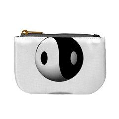 Yin Yang Coin Change Purse by hlehnerer