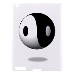 Yin Yang Apple Ipad 3/4 Hardshell Case by hlehnerer