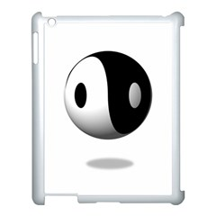 Yin Yang Apple Ipad 3/4 Case (white)