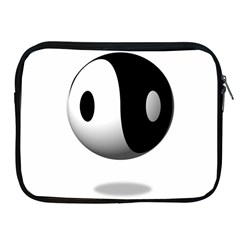 Yin Yang Apple Ipad 2/3/4 Zipper Case by hlehnerer