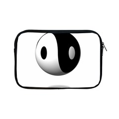Yin Yang Apple Ipad Mini Zipper Case by hlehnerer