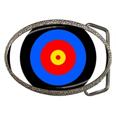 Target Belt Buckle (oval) by hlehnerer