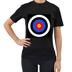 Target Womens' Two Sided T Shirt (black)