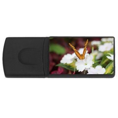 Butterfly 159 4gb Usb Flash Drive (rectangle) by pictureperfectphotography