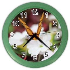 Butterfly 159 Wall Clock (color)