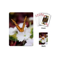 Butterfly 159 Playing Cards (mini) by pictureperfectphotography