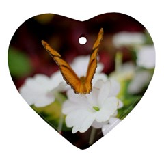 Butterfly 159 Heart Ornament by pictureperfectphotography