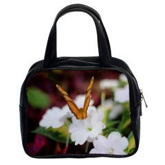 Butterfly 159 Classic Handbag (two Sides) by pictureperfectphotography