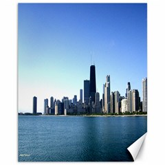 Chicago Skyline Canvas 11  x 14  9 (Unframed)