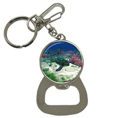 Sea Turtle Bottle Opener Key Chain