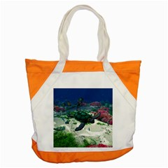 Sea Turtle Accent Tote Bag by gatterwe