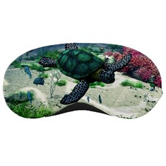 Sea Turtle Sleeping Mask by gatterwe
