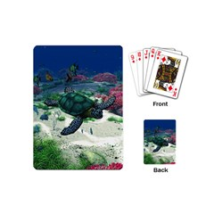 Sea Turtle Playing Cards (mini) by gatterwe