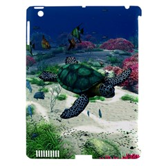 Sea Turtle Apple Ipad 3/4 Hardshell Case (compatible With Smart Cover) by gatterwe