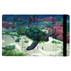 Sea Turtle Apple Ipad 3/4 Flip Case by gatterwe