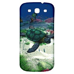 Sea Turtle Samsung Galaxy S3 S Iii Classic Hardshell Back Case by gatterwe