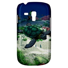Sea Turtle Samsung Galaxy S3 Mini I8190 Hardshell Case by gatterwe