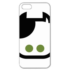 Cowcow  Apple Seamless Iphone 5 Case (clear) by orange