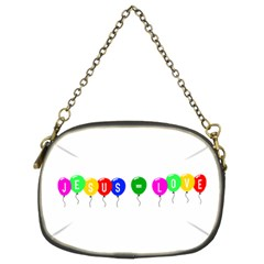 Balloons Chain Purse (two Side)