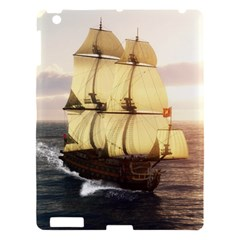 French Warship Apple Ipad 3/4 Hardshell Case by gatterwe