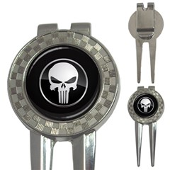 The Punisher Wallpaper  Golf Pitchfork & Ball Marker by sterlinginme