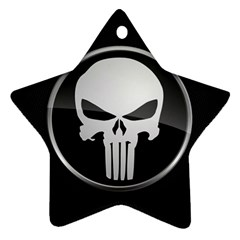 The Punisher Wallpaper  Star Ornament (two Sides) by sterlinginme