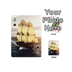 French Warship Playing Cards 54 Designs (mini) by gatterwe
