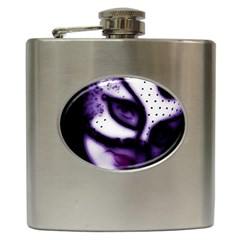 Purple M Hip Flask by dray6389