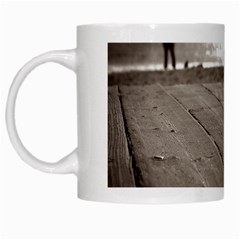 Laguna Beach Walk White Coffee Mug by hlehnerer