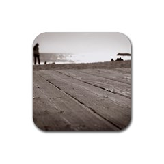 Laguna Beach Walk Drink Coasters 4 Pack (square) by hlehnerer