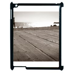 Laguna Beach Walk Apple Ipad 2 Case (black) by hlehnerer
