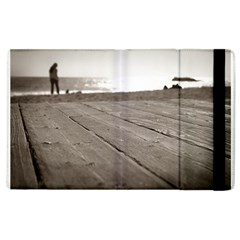 Laguna Beach Walk Apple Ipad 2 Flip Case by hlehnerer