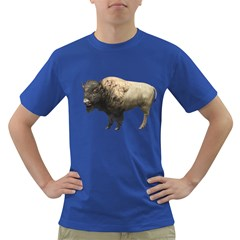 Bison Mens' T Shirt (colored) by gatterwe