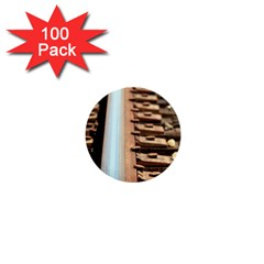 Train Track 1  Mini Button (100 Pack) by hlehnerer
