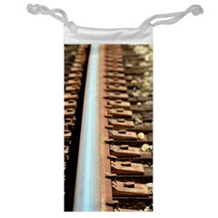 Train Track Jewelry Bag by hlehnerer